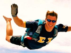 Joshua sky diving #2
