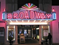 Broadway Therater Marque #1