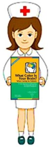 Health Care Brain Color Book Boost Brain Power