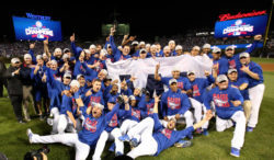2016 Chicago Cubs team photo